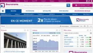Investir en bourse avec Boursorama